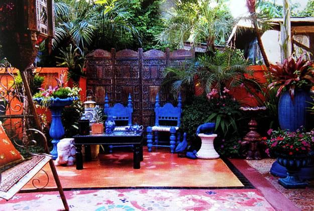 25 Modern Backyard Ideas to Create Beautiful Outdoor Rooms ... on Moroccan Backyard Design  id=76803