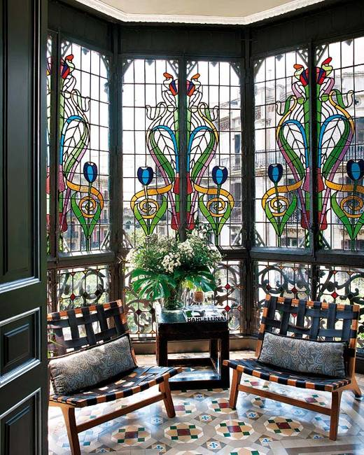 Stained Glass Paintings, Designs to Impress and Style ... on Glass House Design Ideas  id=40452