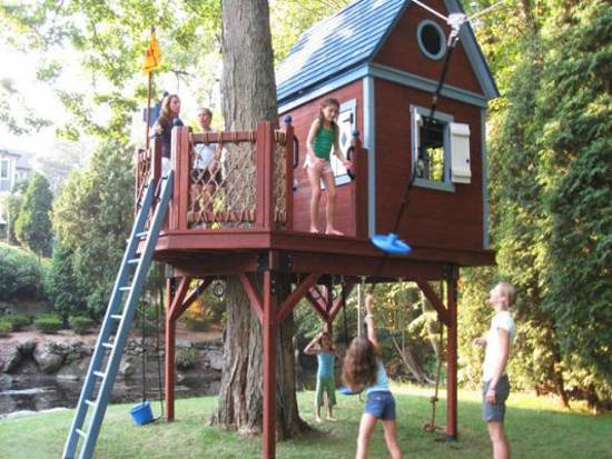 25 Tree House Designs For Kids Backyard Ideas To Keep