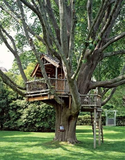 20 Tree House Design Ideas to Fill Backyards with Fun on Backyard House Ideas id=76367