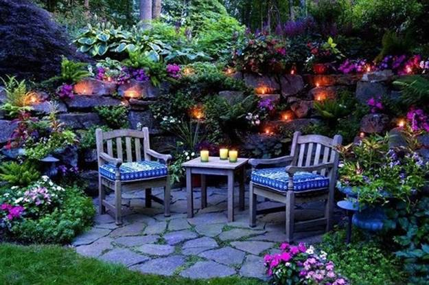 22 Small Backyard Ideas and Beautiful Outdoor Rooms ... on Beautiful Backyard Ideas id=30254