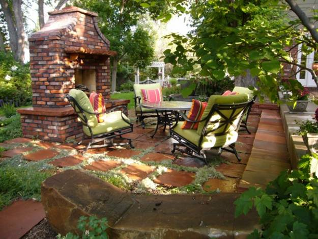 22 Small Backyard Ideas and Beautiful Outdoor Rooms ... on Small Patio Design Ideas id=52446