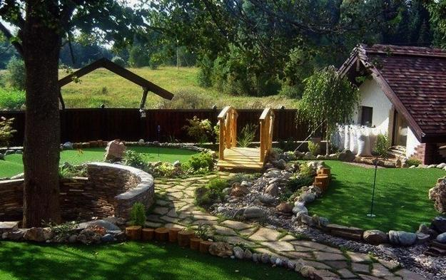 25 Yard Landscaping Ideas Curvy Garden Path Designs To Feng Shui Homes