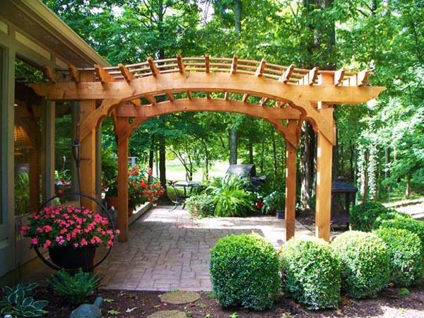 22 Beautiful Wooden Garden Designs to Personalize Backyard ... on Outdoor Backyard Designs id=95055