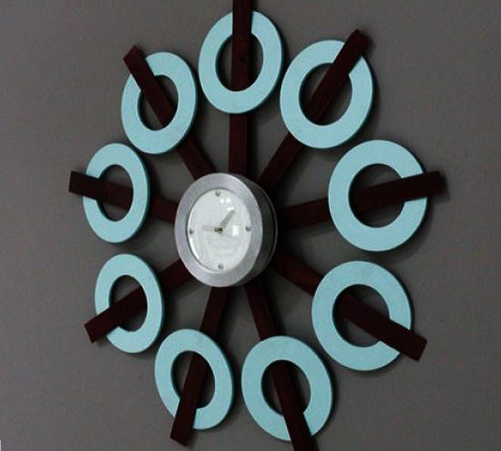 30 Funky Wall Clock Design Ideas Personalizing Interior