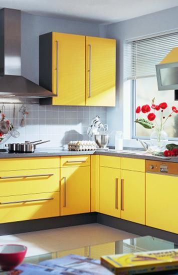 Small Kitchen Remodeling Ideas Accentuated With Sunny