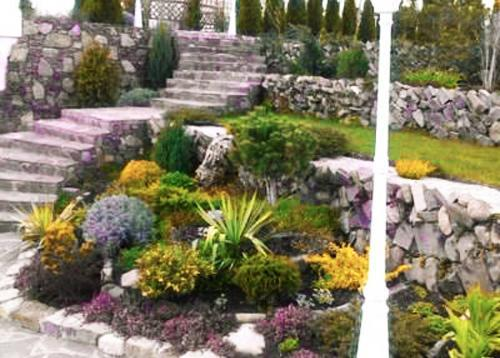25 Beautiful Hill Landscaping Ideas and Terracing Inspirations on Backyard Hill Landscaping Ideas  id=59108