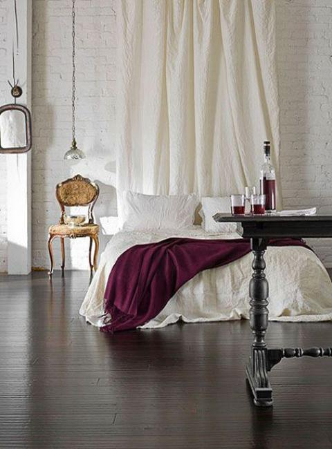 Marsala Wine Bedroom Colors Modern Bedroom Decorating With Dark Red Color