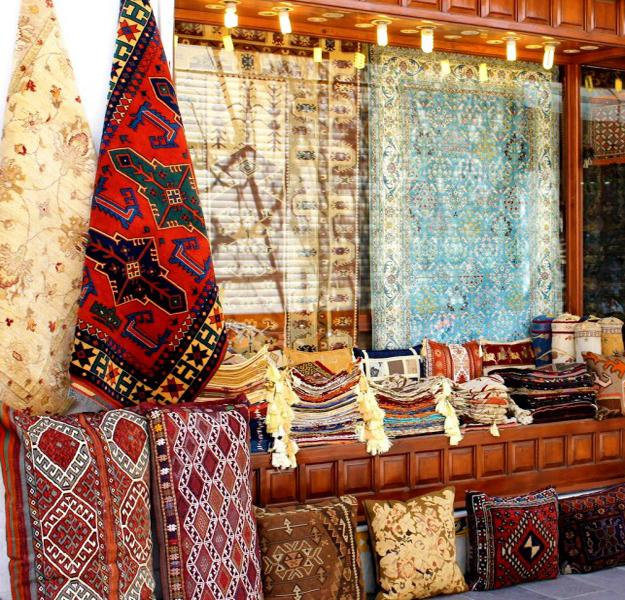 Oriental Interior Decorating In Azerbaijan Influenced By