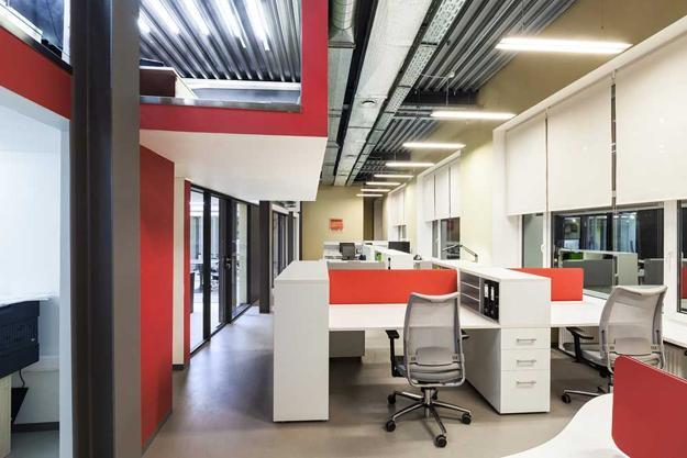 European Office Design Ideas Creative Elements And Bright