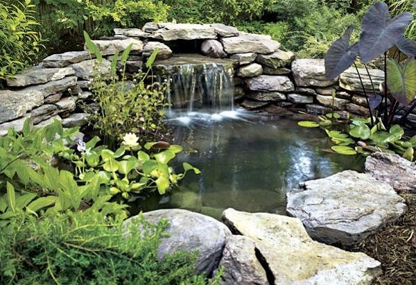 21 Waterfall Ideas to Add Tranquility to Rock Garden Design on Rock Garden Waterfall Ideas  id=31457