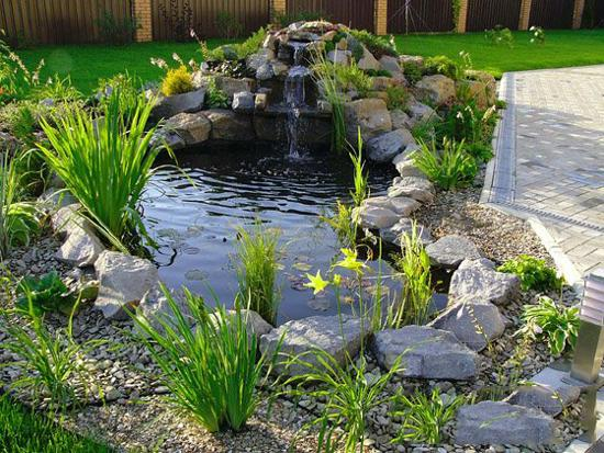 21 Waterfall Ideas to Add Tranquility to Rock Garden Design on Rock Garden Waterfall Ideas id=39723