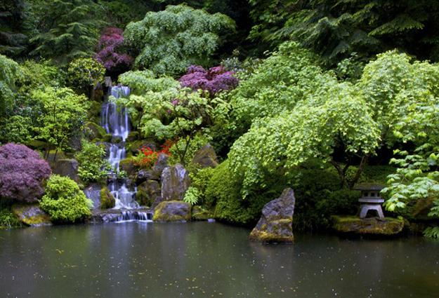 21 Waterfall Ideas to Add Tranquility to Rock Garden Design on Rock Garden Waterfall Ideas  id=67361