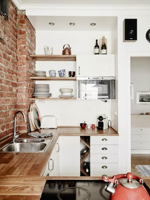 25 Space Saving Small Kitchens and Color Design Ideas for ... on Small Space Small Kitchen Ideas  id=57768