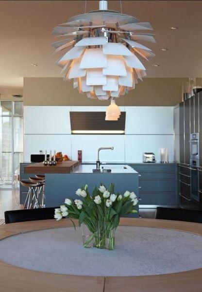 Artichoke And Arco Lamps Beautiful Lighting Fixtures In