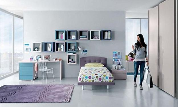 25 Teenage Bedroom Designs and Teens Room Decorations for ... on Room Design For Girls Teenagers  id=18399