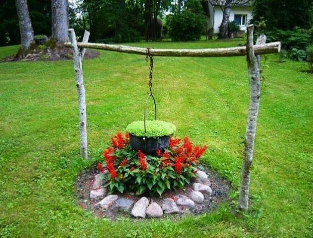 15 Small Handmade Yard Decorations for Creative Garden Design on Lawn Decorating Ideas  id=33105