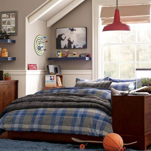 22 Teenage Bedroom Designs, Modern Ideas for Cool Boys ... on Teenage Room Decoration  id=52672