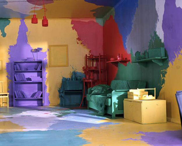 22 Creative Wall Painting Ideas and Modern Painting Techniques on Creative Wall Design Ideas  id=17939