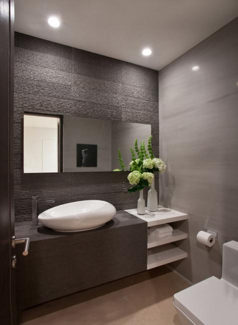22 Small Bathroom Design Ideas Blending Functionality and ... on Small Bathroom Ideas Decor id=81449