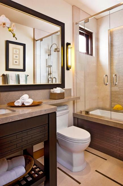 22 Small Bathroom Design Ideas Blending Functionality and ... on Bathroom Ideas Small  id=49767