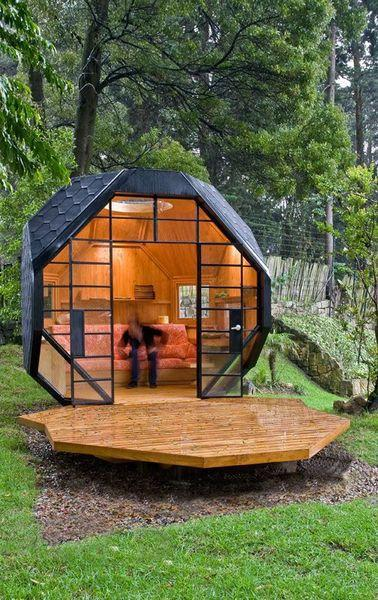 Beautiful Garden House Designs Adding Leaisure of Studio ...