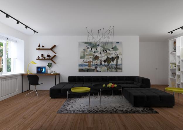 Single Guy Apartment Ideas Blending