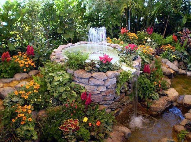 Beautiful Garden Design, Optical Illusions Balancing Yard ... on Beautiful Backyard Ideas id=90148