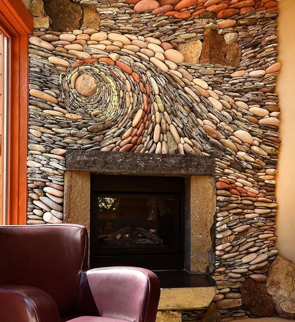 Spectacular Stone Walls Blending Ancient Art into Creative ... on Creative Wall Design Ideas  id=34808