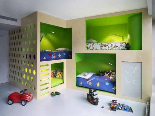 Download Children's Bunk Bed Bedroom Sets Gif