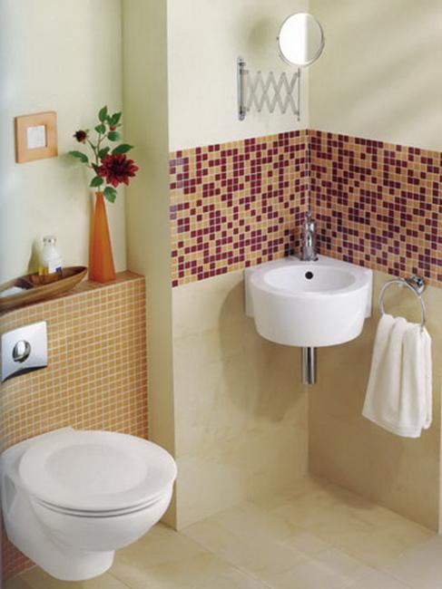 10 Spacious Ideas for Small Bathroom Design and Decor on Small Space Small Bathroom Tiles Design  id=89123