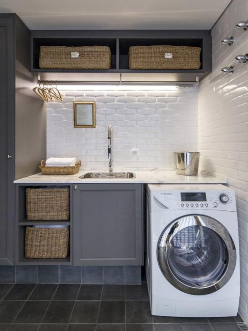 20 Space Saving Ideas for Functional Small Laundry Room Design on Small Laundry Ideas  id=76089