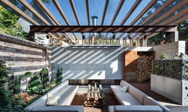 Stylish Backyard Ideas Creating Cozy Outdoor Seating Area ... on Backyard Lounge Area Ideas id=26226