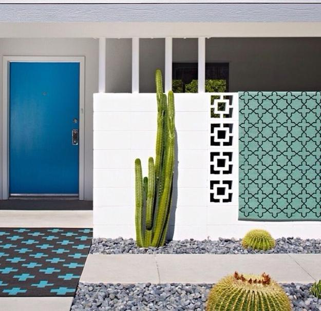 Mid Century Modern Door Colors Adding Fashion And Flair To House Exteriors