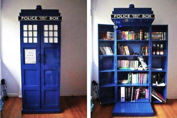 Original Book Shelves Making Captivating Centerpieces For