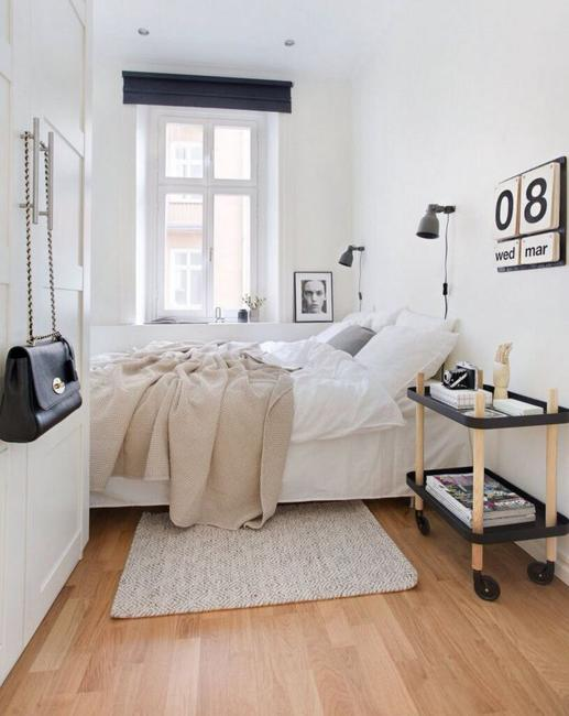 Narrow or Small Rooms, Bedroom Design Ideas on Small Room Bedroom Ideas  id=19056