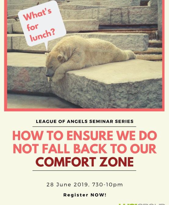How to Ensure we Do Not Fall Back to our Comfort Zone