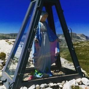 Madonnina di Monte Greco 2100 mt