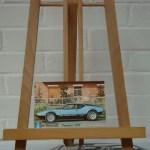 "De Tomaso ""Pantera GTS"" postcard"
