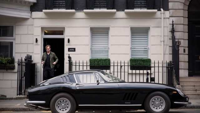 George Bamford and his Ferrari 275 GTB