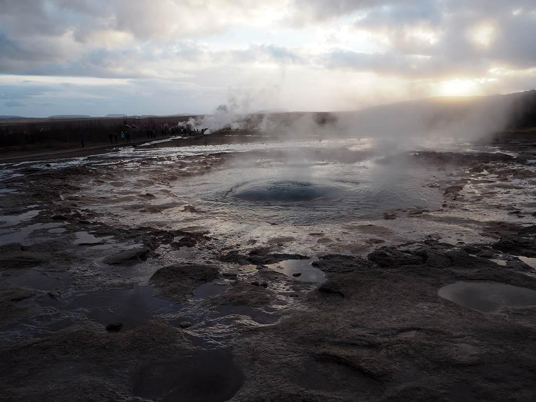 Iceland Strokkur Geyser