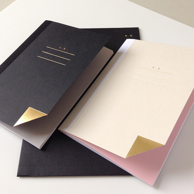 QUILL LONDON X STUDIOSARAH PERSONALISED NOTEBOOK