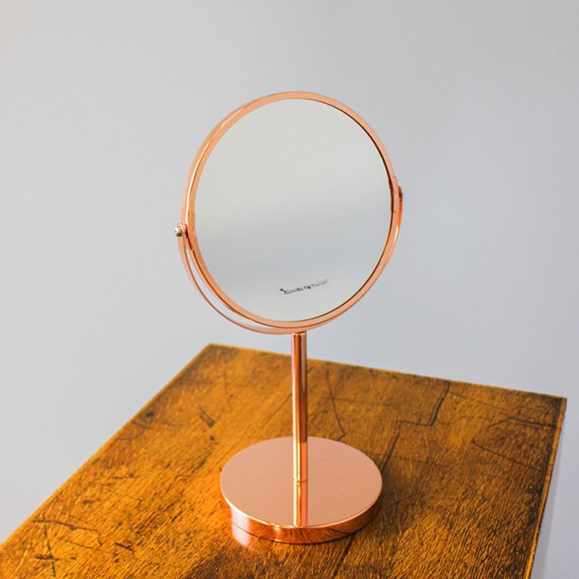 2 Sided Copper Vanity Mirror by Bloomingville
