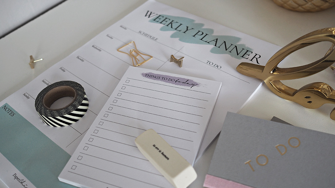 Paper Chic Co Stationery Planner