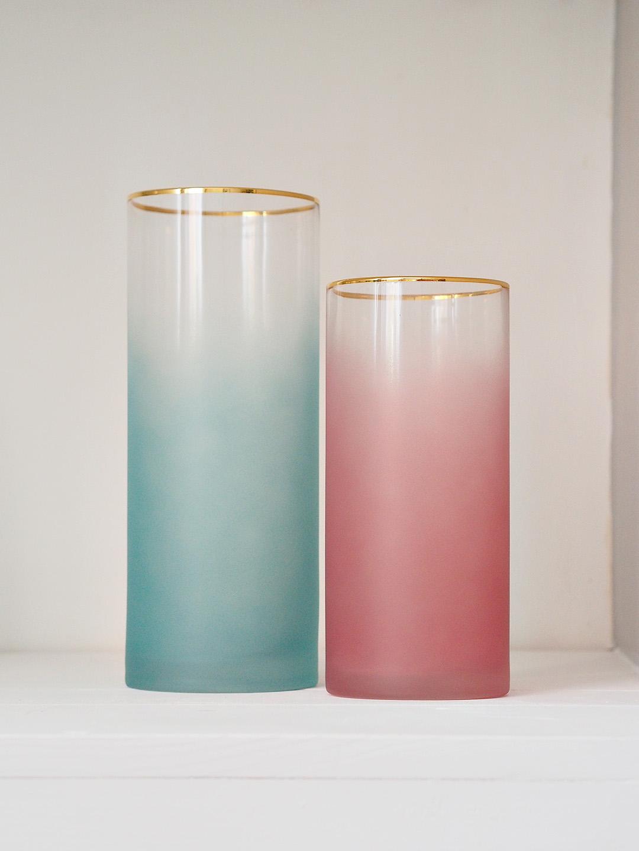 Gold Rimm Vase