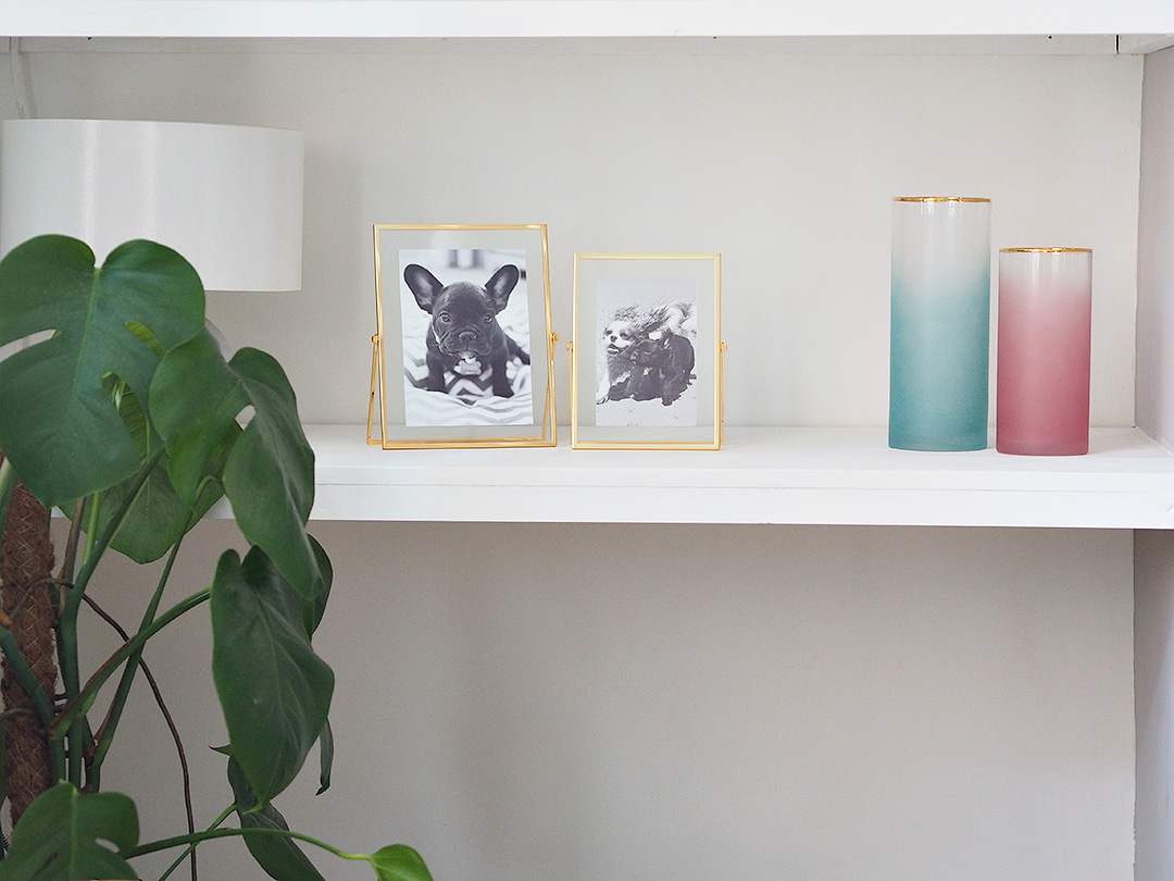 White Alcove Shelving