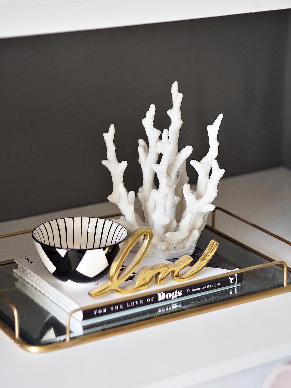Faux Coral Ornament