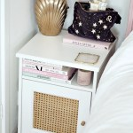 Rattan Cane Ikea Bedside Table Diy Hack Lust Living