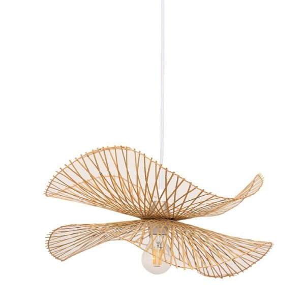 Lustre style chinois en bambou