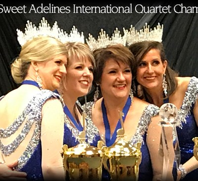 2018 Sweet Adelines International Quartet Champions!